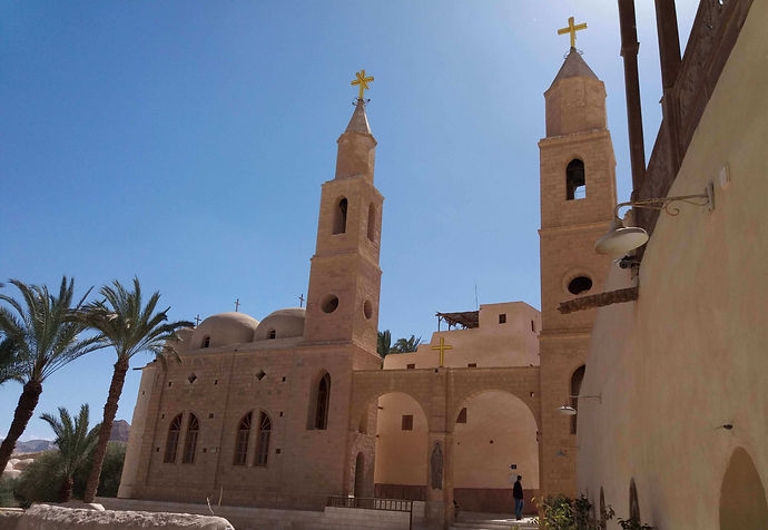 St. Anthonys Monastery Day Tour From Hurghada
