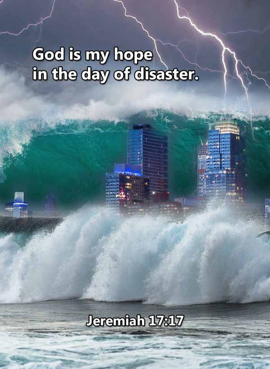 My hope in the day of disaster Jeremiah