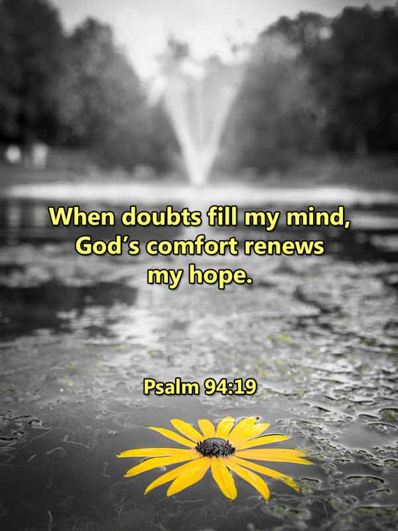 Gods comfort renews my hope Psalm 94_19L