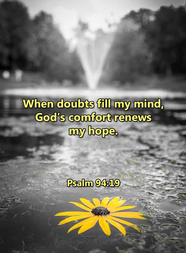Gods comfort renews my hope Psalm 94_19L