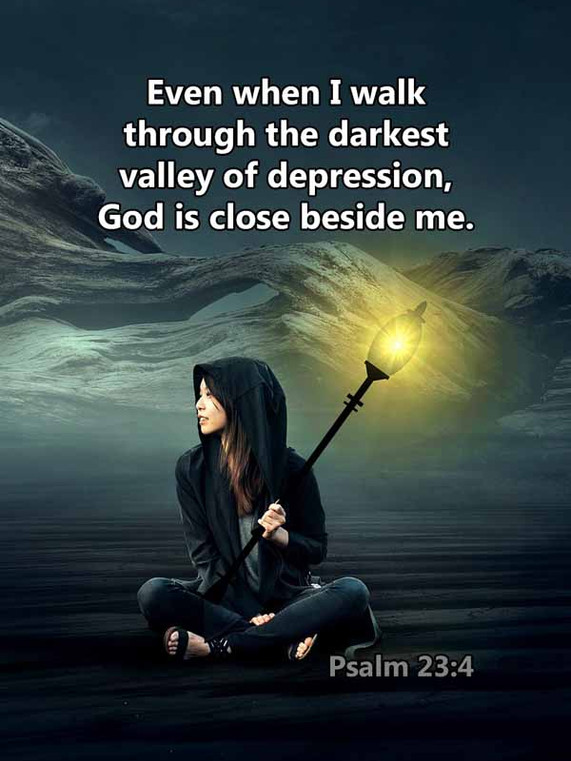 The darkest valley of depression Psalm 2