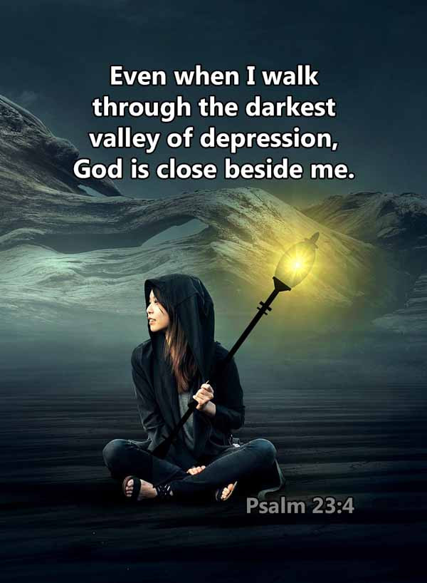 The darkest valley of depression Psalm 2