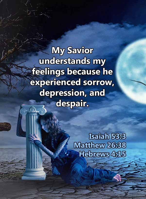 My Savior understands my feelings Matthe
