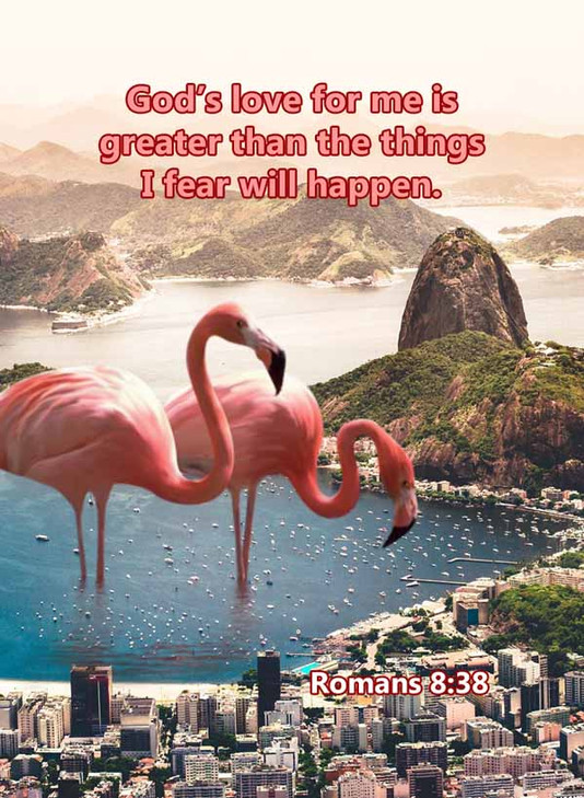 Greater than the things I fear Romans 8_