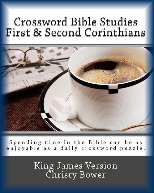 First & Second Corinthians (Crossword Bible Studies)