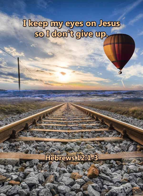 I keep my eyes on Jesus Hebrews 12_1LR.j