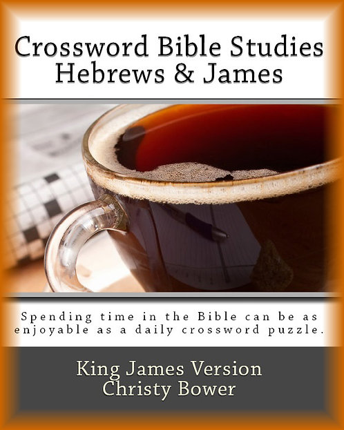 Hebrews & James (Crossword Bible Studies)