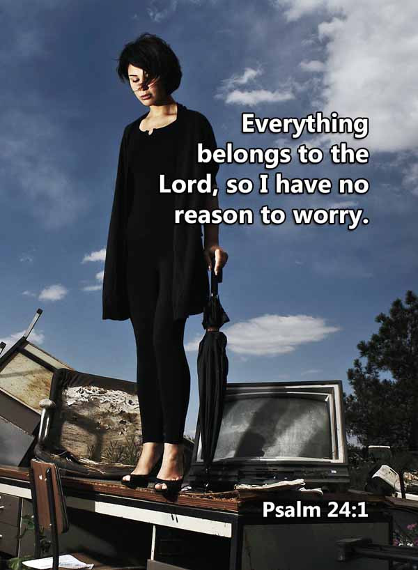 Everything belongs to the Lord Psalm 24_