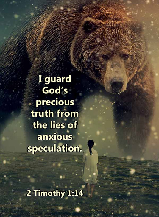 Lies of anxious speculation 2 Timothy 1_