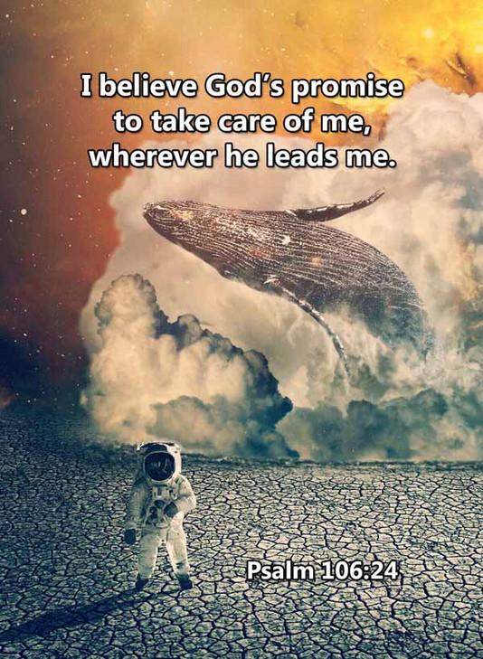 Take care of me wherever he leads me Psa