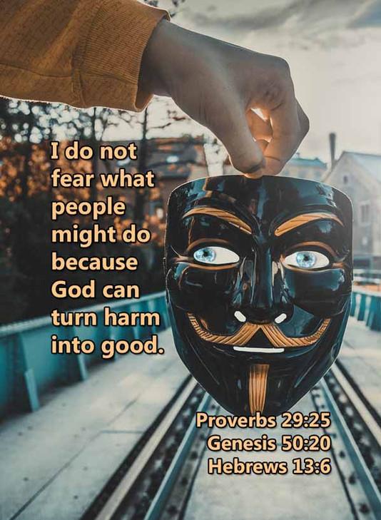 God can turn harm into good Proverbs 29_