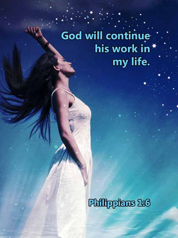 God will continue his work in my life Ph