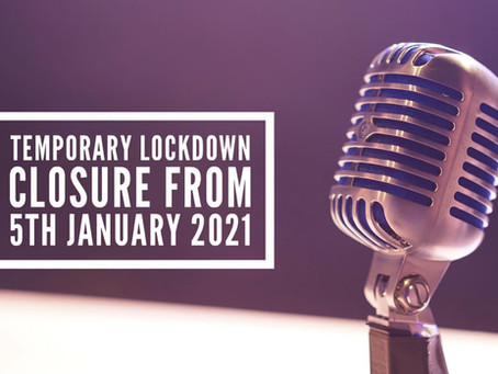 January 2021: Lockdown announcement