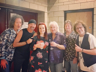 May 2018: Join Charlie behind the scenes on the Smokie 2018 Tour