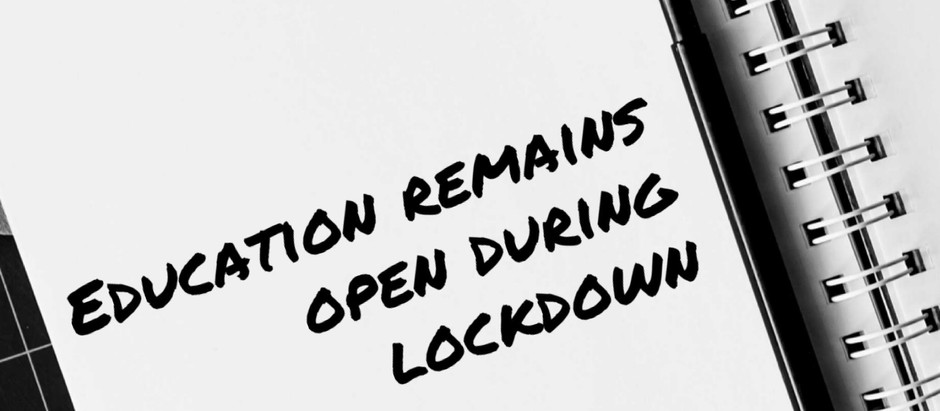November 2020 lockdown announcement