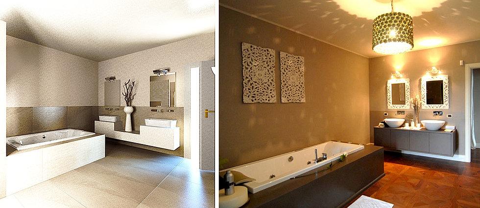 inarte progetti di lucio mana, interior designer - Arredo Bagno Mondovi