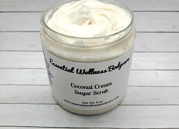 Coconut Cream Sugar Scrub
