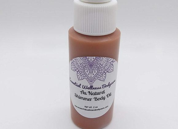 Au Naturel Shimmer Body Oil