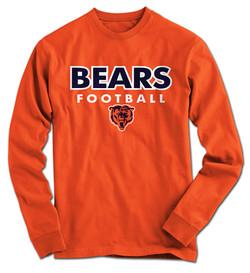 Bears LS 2017 - Orange