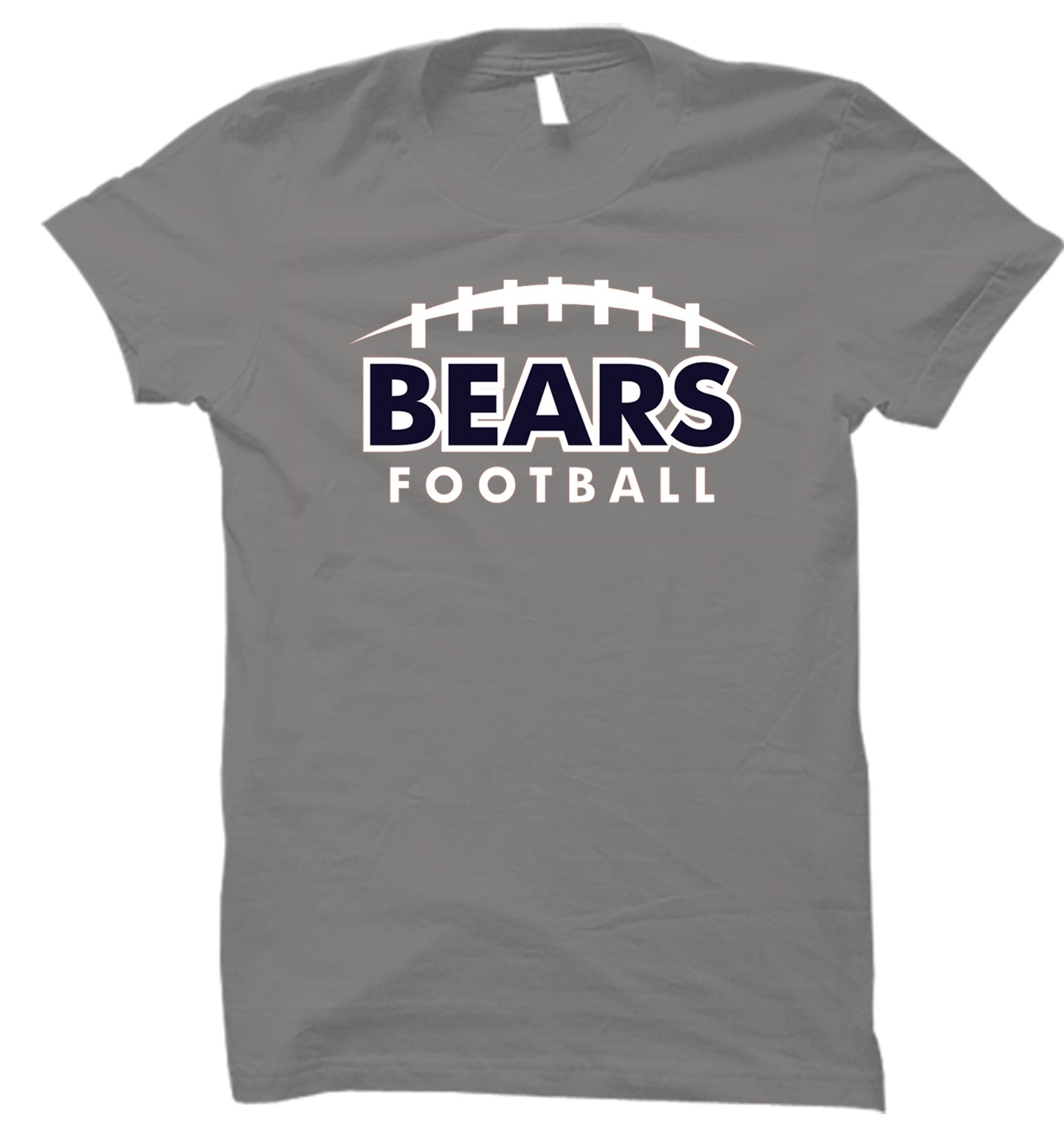 Bears SS 2017 2 - Gray