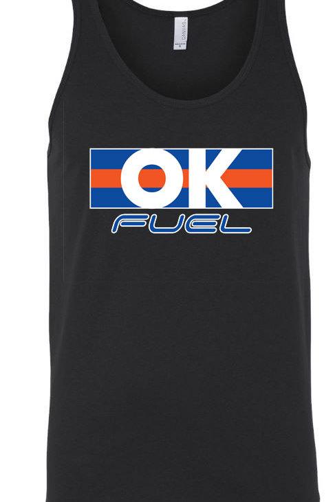 5043. - OK Fuel Stripes Unisex Tank - 4-Colors Available