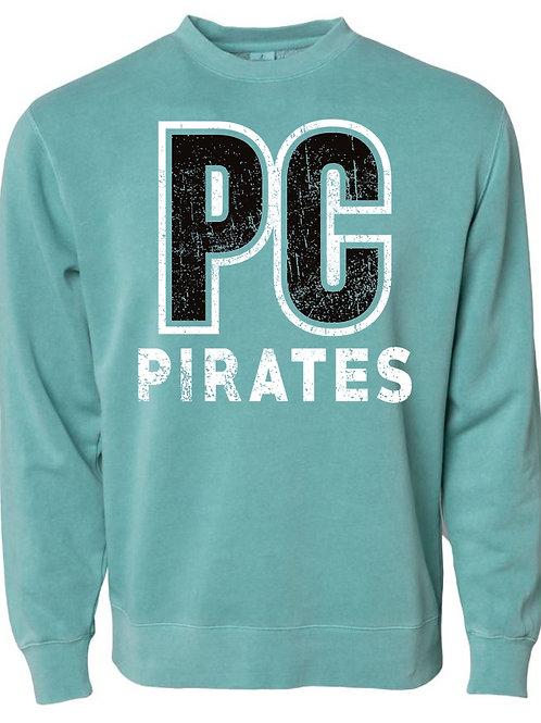 1005. PC Pirates - Crew Sweatshirt - MInt