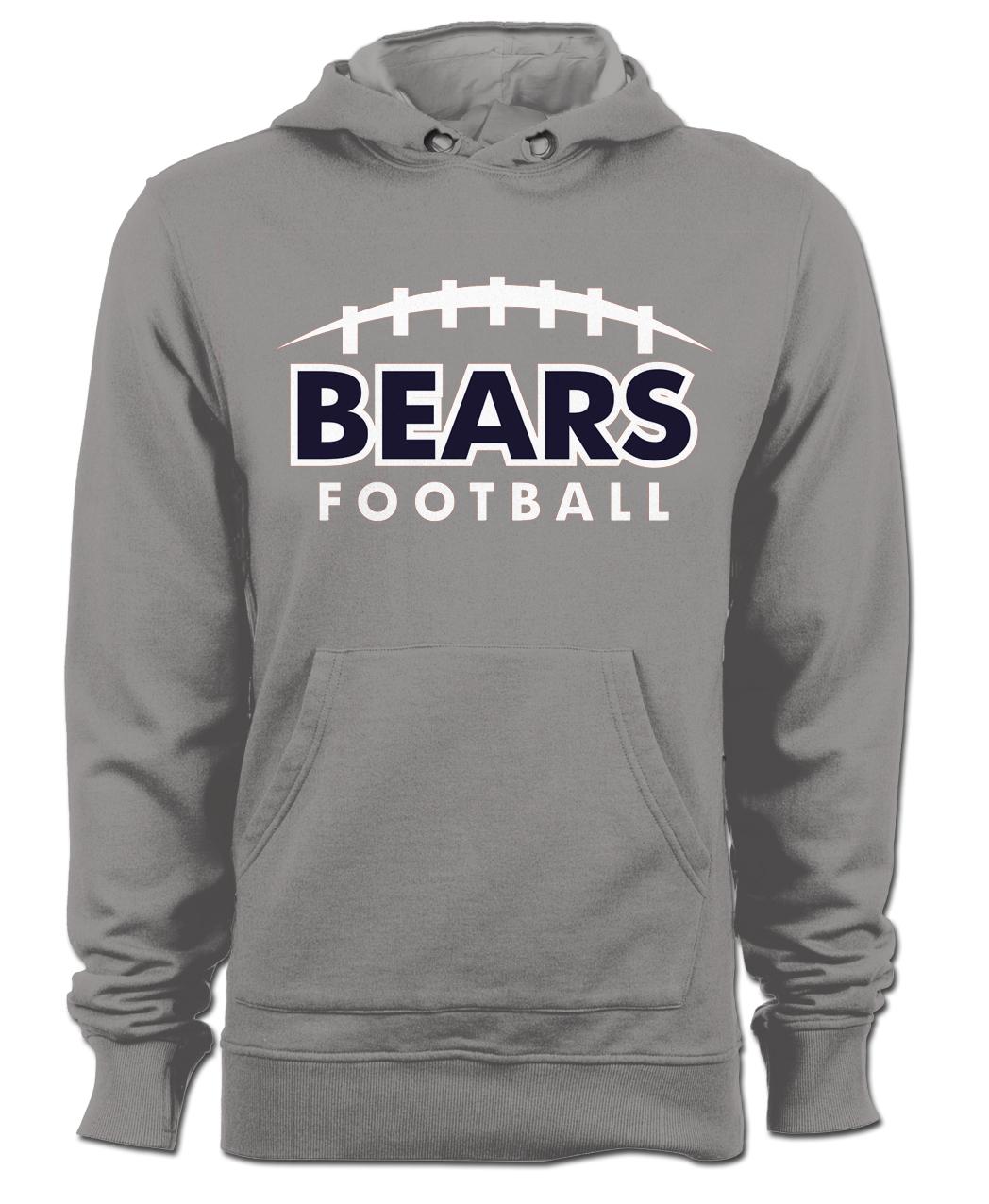 Bears Hoodie 2017 2 - Gray