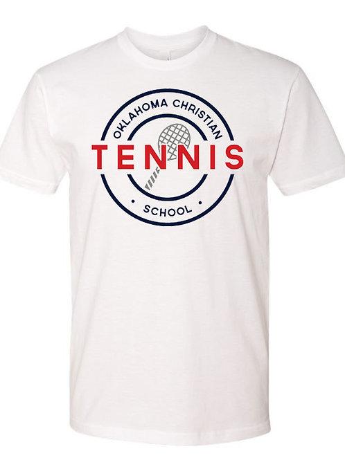 2300. OCS Tennis Circle SS - White