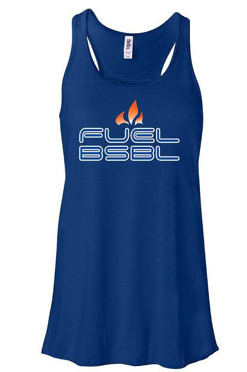 4506 - Fuel BSBL - Bella Flowy Racerback Tank - 3 Colors Available