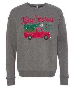 Merry Christmas Truck - Sweatshirt