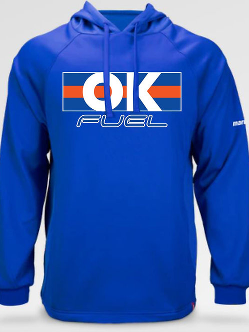 5038. OK Fuel Stripes - Youth Marucci Technical Hoodie - 2 -Colors Available