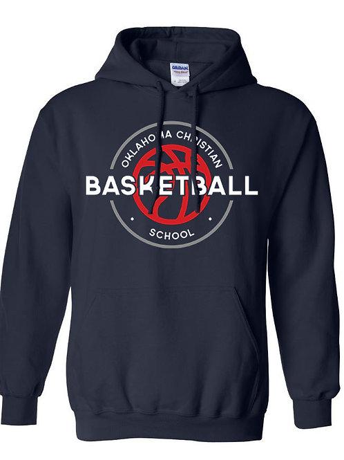 2106. OCS Basketball Circle Hoodie - Navy