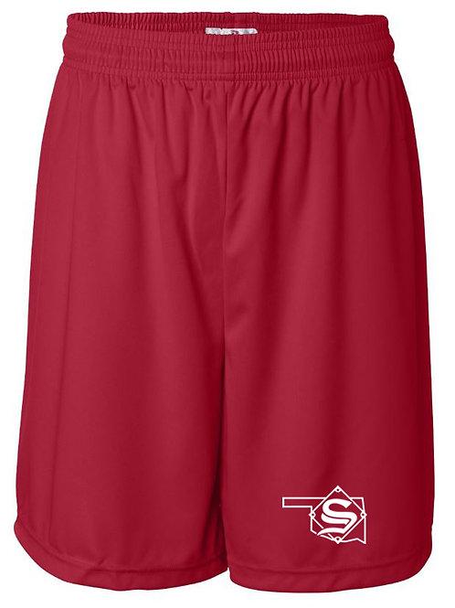 8022. Sandlot Shorts - Red