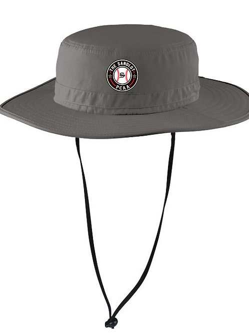 1118. PCAA Sandlot Baseball Wide-Brim Hat - Dark Gray