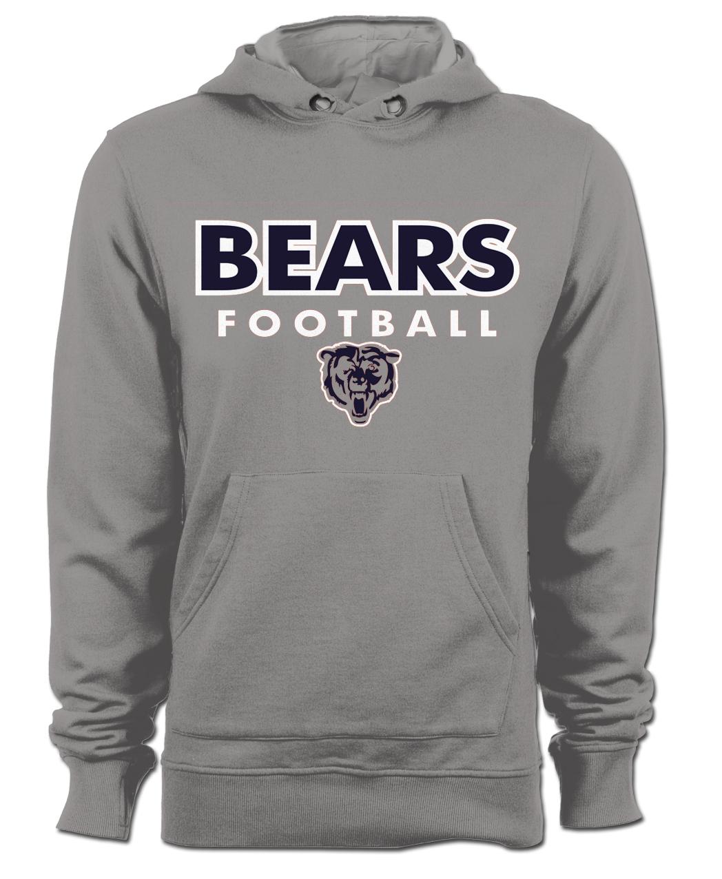 Bears Hoodie 2017 - Gray