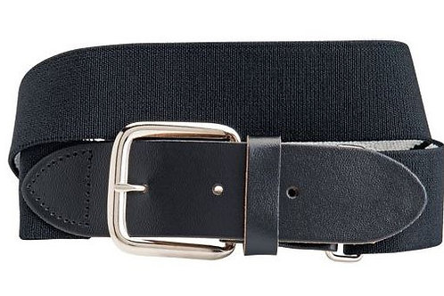 7017. Baseball Belt - Adult - Black