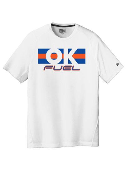 4508 - OK Fuel Stripes - New Era Short Sleeve Performance - 3 Colors Available