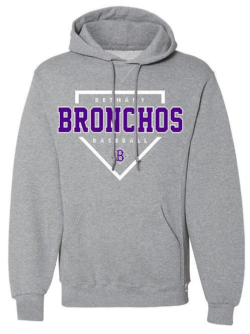 7011. Bronchos Plate  - Performance Hoodie
