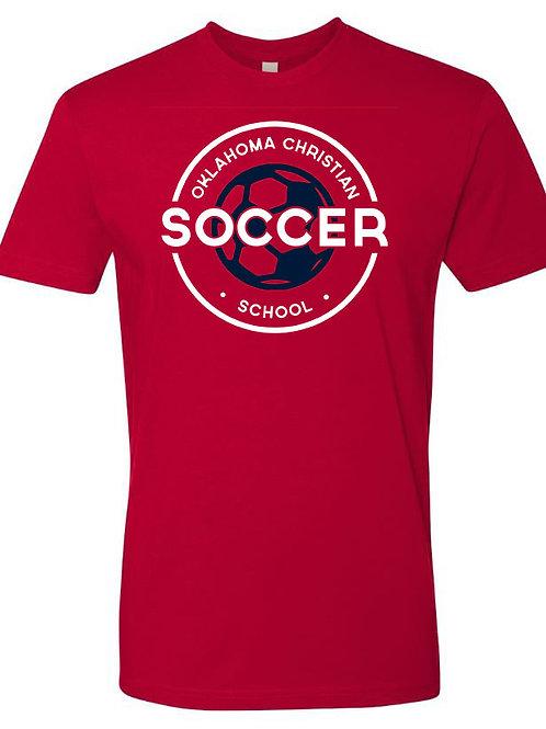 2201. OCS Soccer Circle SS - Red
