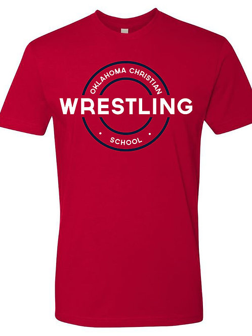 2601. OCS Wrestling Circle SS - Red