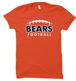 Bears SS 2017 2 - Orange
