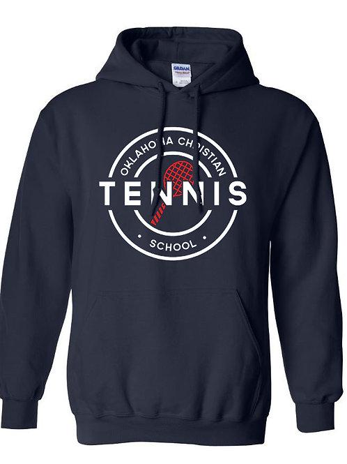 2307.  OCS Tennis Circle Hoodie - Navy