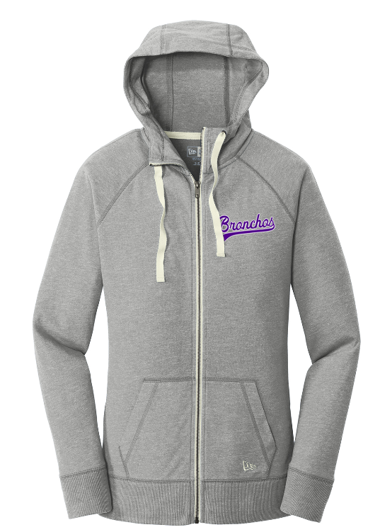 New Era Women Hoodie - LNEA122 - 14.99 - Sport Gray