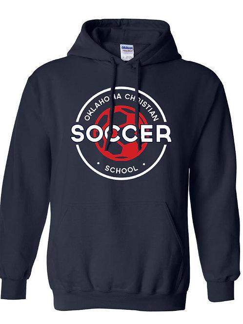 2207. OCS Soccer Circle Hoodie - Navy