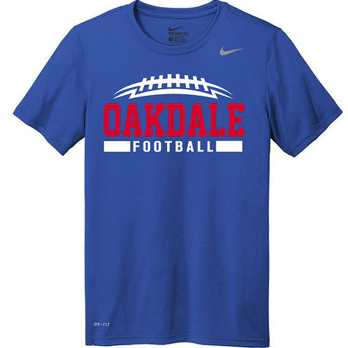 4100. NIKE - Oakdale Football with Name and Number
