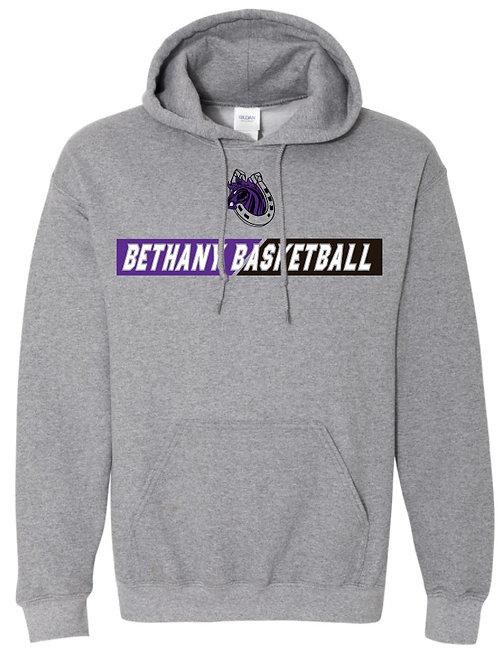 314. Bethany Basketball - Hoodie - Graphite Heather