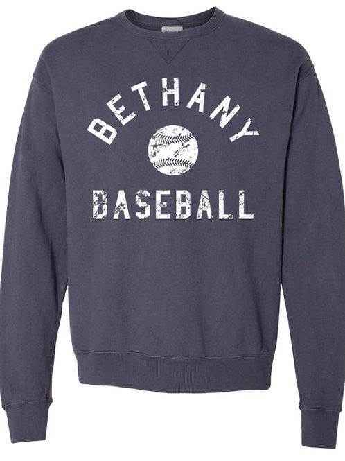 7029.  Vitage Bethany Baseball - Comfort Wash Sweatshirt
