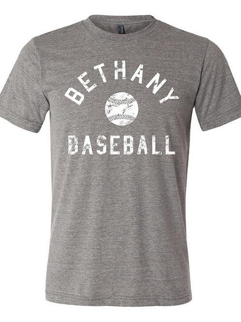 7027.  Vitage Bethany Baseball - Cotton Short Sleeve