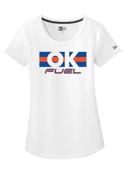 4514 - Ladies OK Fuel Stripes - New Era Short Sleeve Performance - 3 Colors Ava