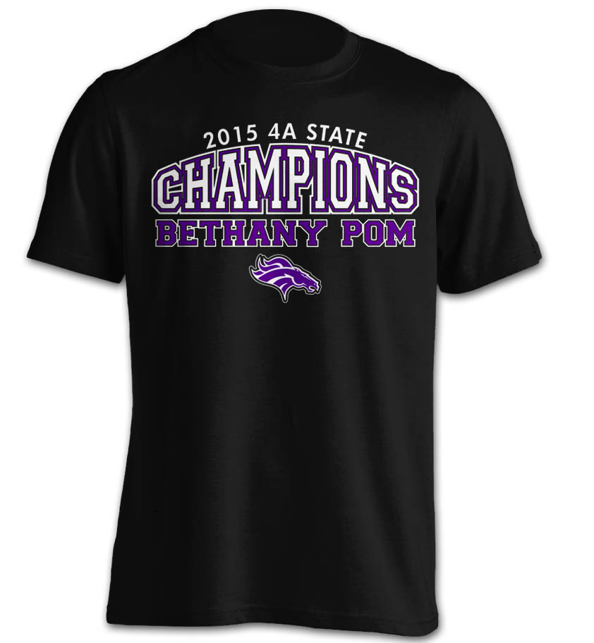 New Bethany Pom Champs Short Sleeve 2015